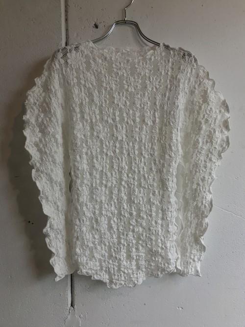 DECOdepuis1985 pressed flower lace uneune tops