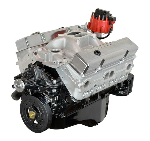 Small Block Chevy 383 Stroker 415+HP Long Block Crate Engines