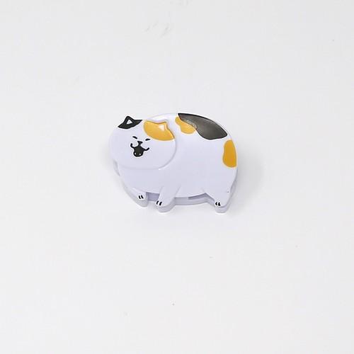 猫クリップ(にゃばんばん)みけねこ