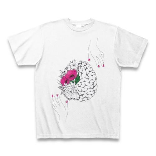 Brain and Flowers Tee T-shirt 脳と花 Tシャツ