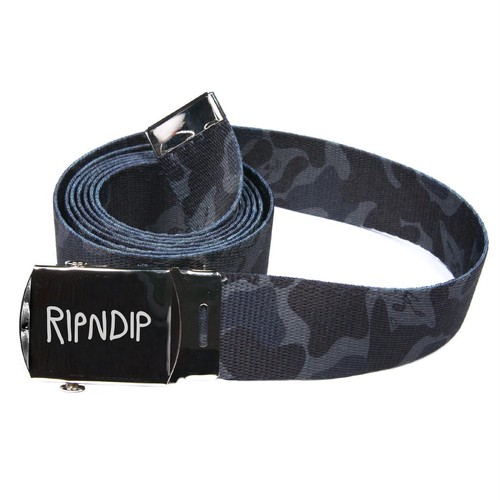 RipNDip Nerm Camo Web Belt (Blackout Camo)