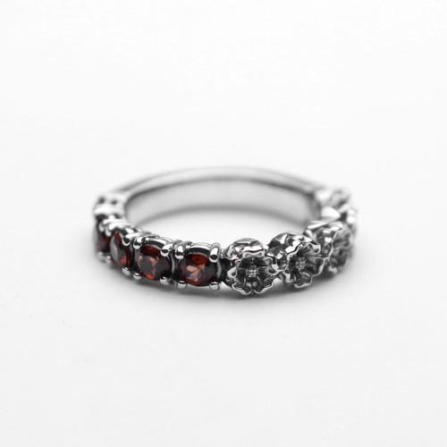 A Man P.Rose Stone Ring エーエムエーエヌ プレイリーローズストーンリング