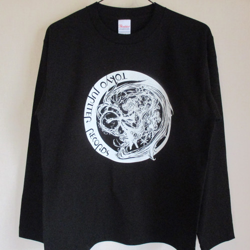 TOKYO JUPITER RECORDS - Logo LONG SLEEVE T-SHIRT Black