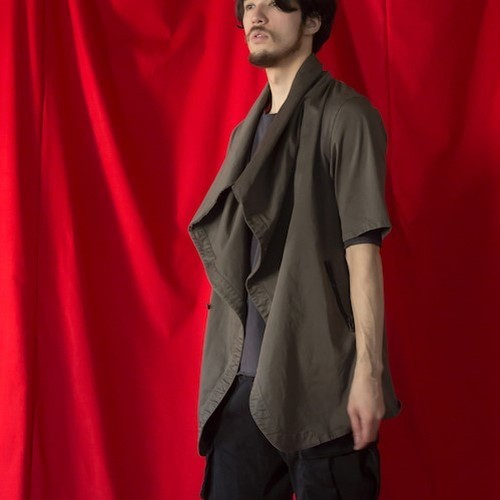 "VIRGO / ヴァルゴ | "" CURVATURE FOREST SHIRTS JKT "" - Charcoal"