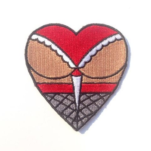 "Metadope""BUTT HEART PATCH"""