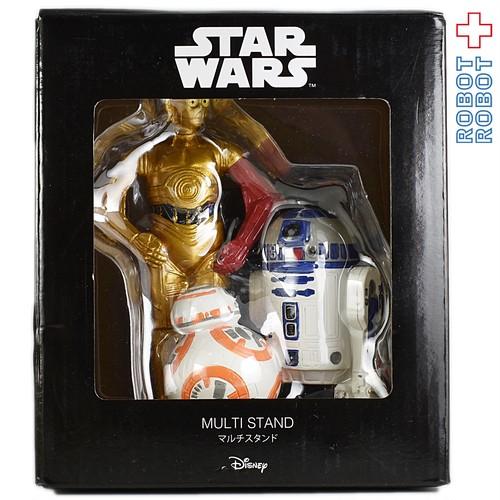 サンアート スターウォーズ マルチスタンド C-3PO R2-D2 BB-8