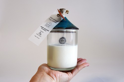 New House Soy Candle(Nevy-Msize)