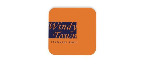 Windy Town 缶バッジ 37mm