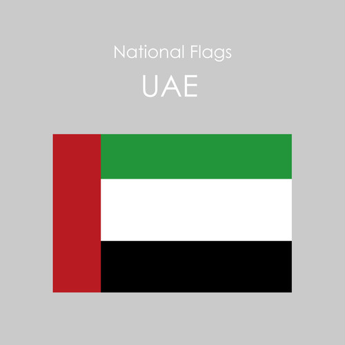 National Flags Sticker [UAE]