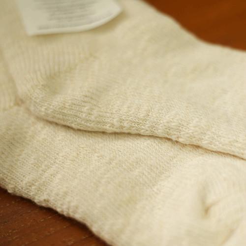 シルクパイルソックス (絹紬糸) 22〜25cm