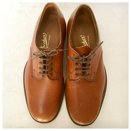 1950s Tricker's Derby Shoe Made In Northampton UK7