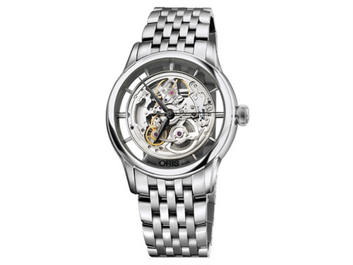 オリス ORIS アートリエ 自動巻き メンズ 腕時計 73476844051M SL×SL 国内正規