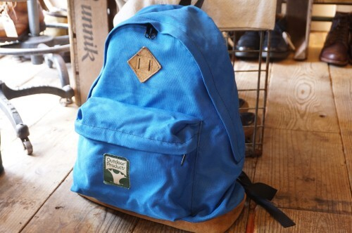 "70's OUTDOOR nylon Backpack ""Made in U.S.A./ TREE LABEL"""