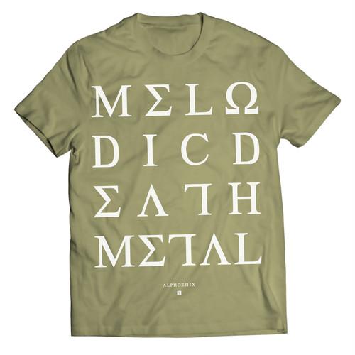 "Alphoenix ""MDM II"" OLIVE T-Shirt"