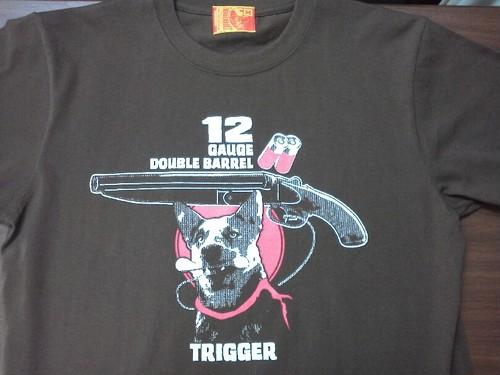 TRIGGER DOG Tシャツ