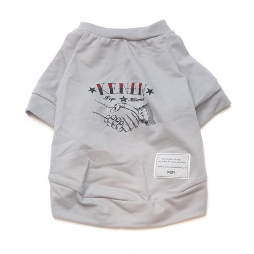 KENEN〜犬縁〜T-shirt グレー【犬用】