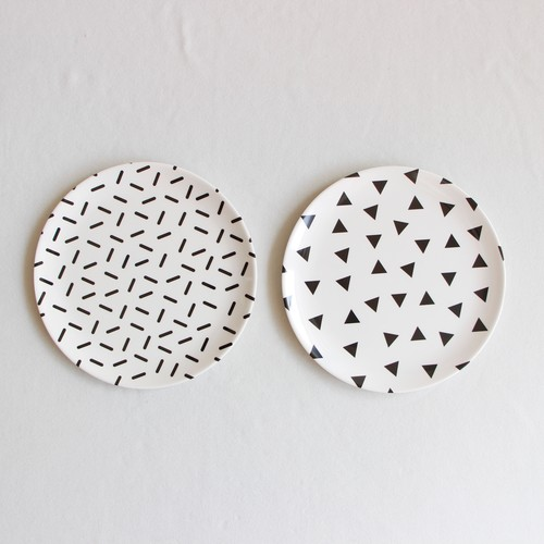 《chocolatesoup》GEOMETRY MELAMINE PLATE