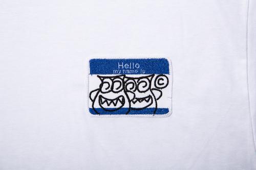 HELLO TEE (BLUE)