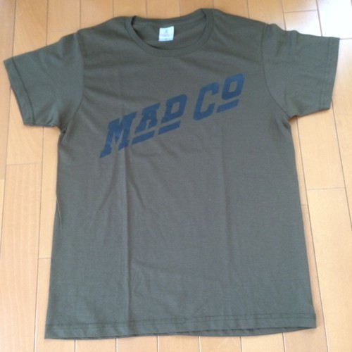 MAD COMPANY T-Shirts MOSS GREEN