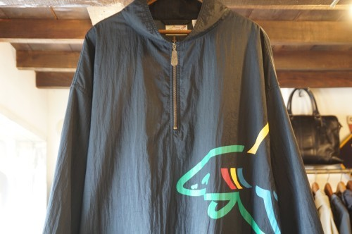 "90's Reebok nylon pull-over Jacket ""Greg Norman Collection"""