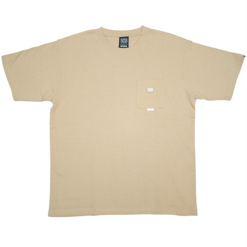 100A THICK JERSEY S/S TOP *with pocket
