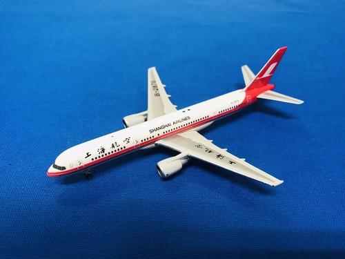 中古品フェニックス/ボーイング 757-200 上海航空 B-2876 1/400