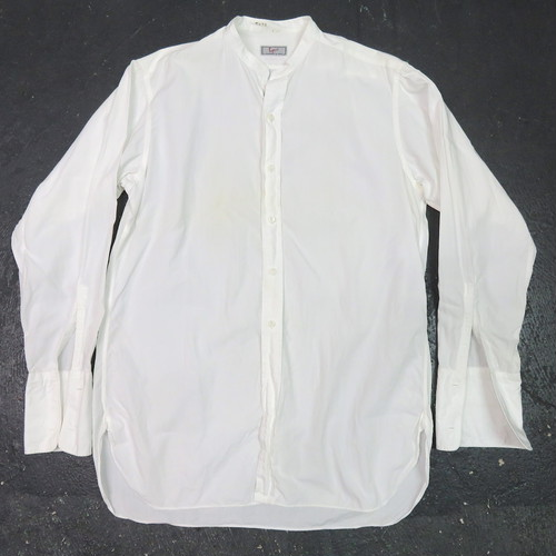 50's DRESS SHIRTS NO-COLLAR