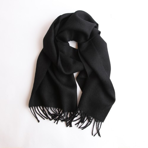 THE INOUE BROTHERS/Large Brushed Stole/Black