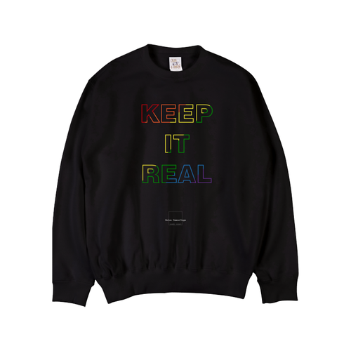 Keep It Real Rainbowスウェット
