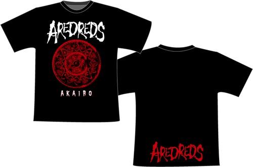 AREDREDS / AKAIRO 2017 TOUR T-Shirts Ver.2