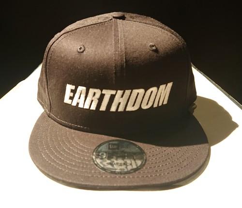 NEW ERA / EARTHDOM 刺繍CAP