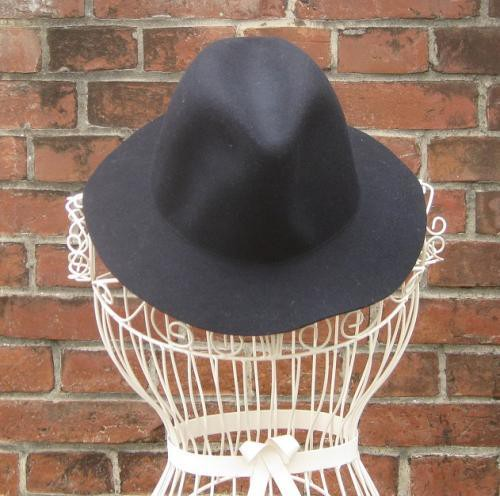TheDelight WOOL FEDORA HAT(ウール 中折れ ハット)NAVY