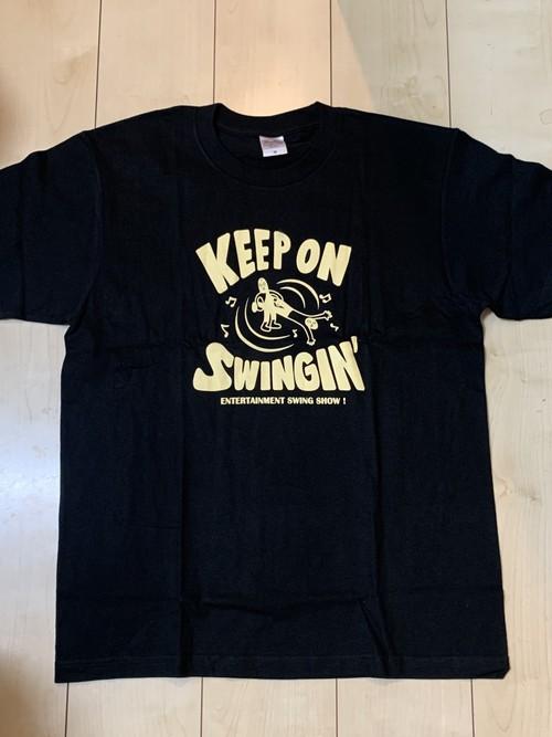 Keep On Swingin' Tシャツ ブラック