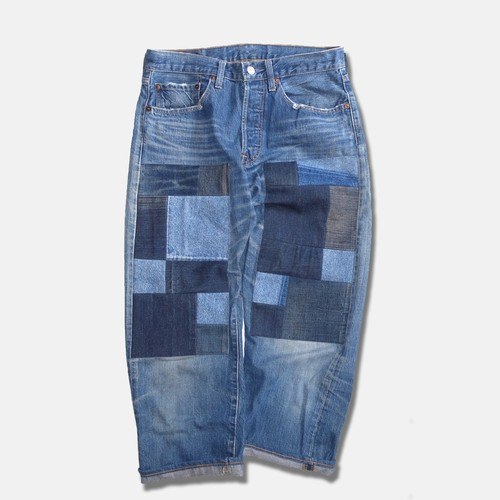 WCH Remake Doubleknee Patch Jeans -A