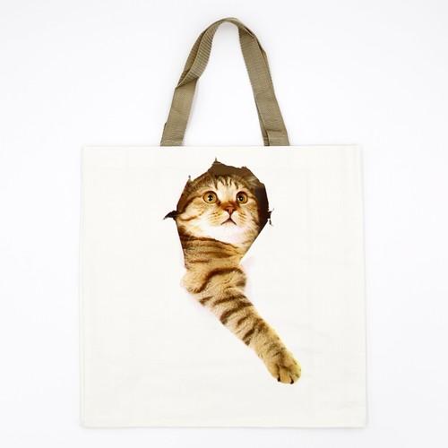 猫ショッピングバッグ(エシャートデザイン)