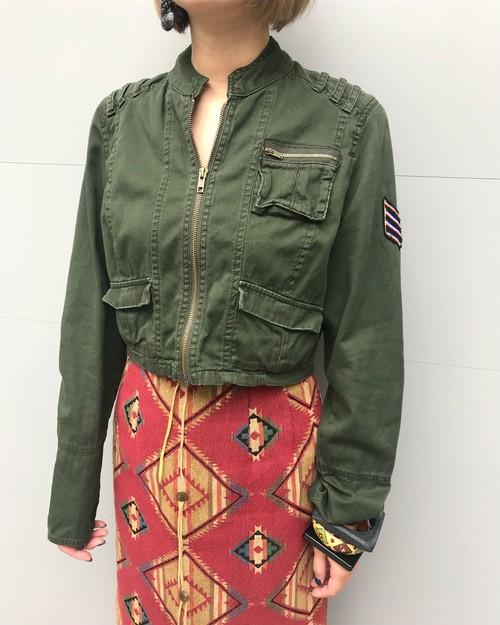 Vintage military short jacket