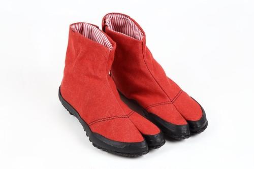 LINN-S Okayama Denim Red