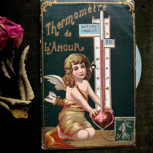 ポストカード「恋の温度計」