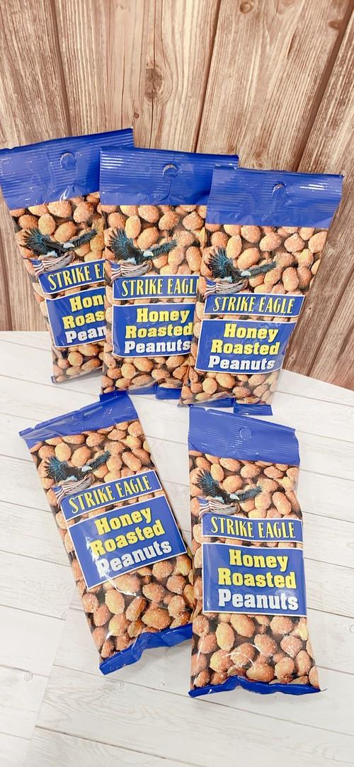 ハニーローストピーナッツ50gx5袋 ストライクイーグル アメリカ産 Strike Eagle Honey Roasted Peanuts ピーナツ