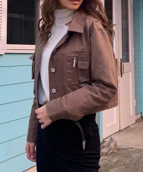 Front pocket military Jacket
