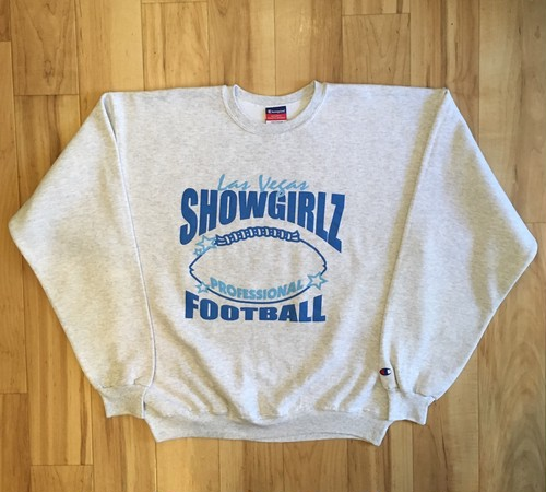 Champion Las Vegas SHOWGIRLZ FOOTBALL Sweat Crew