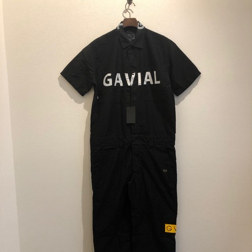 S/S JUMPSUIT (BLACK) / GAVIAL