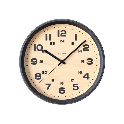CHAMBRE BRAM CLOCK 【CHARCOAL GRAY】【電波時計】