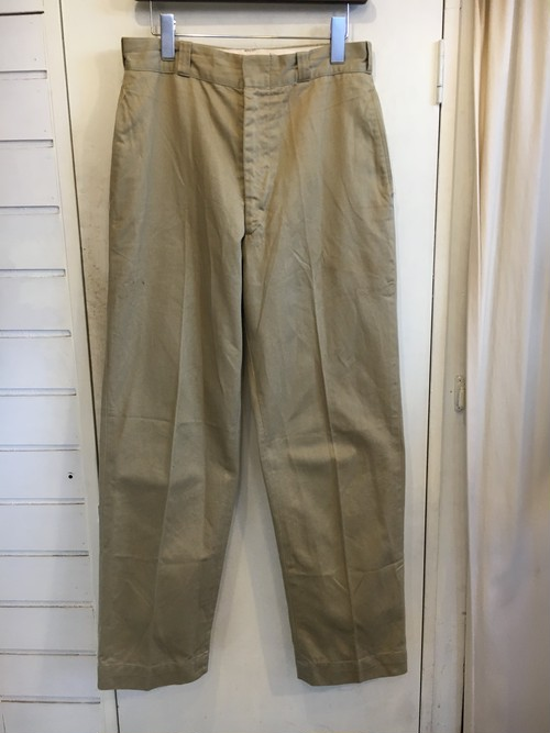 '70s US Military Chino Trousers