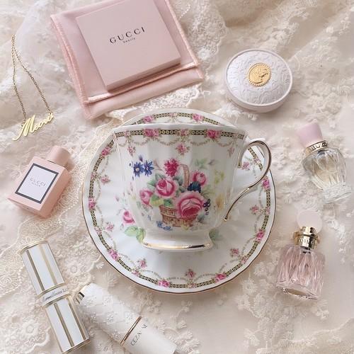 Vintage cup&saucer⑤