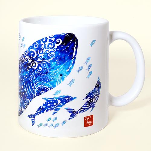 『ジンベエザメ』マグカップ 【受注生産】