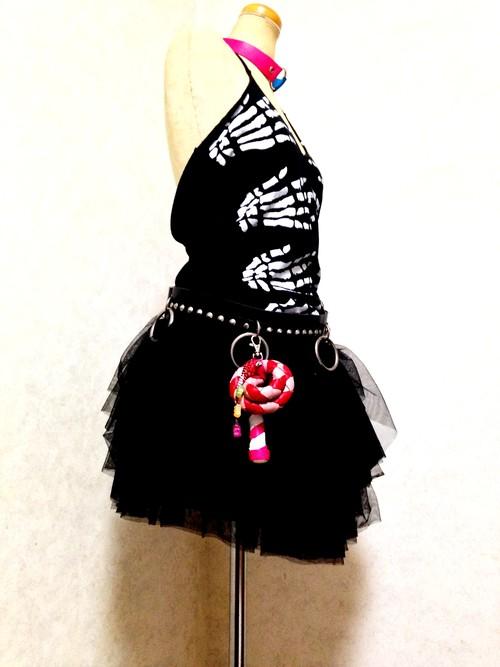 キャンディ鞭 addicted to a lollipop レッド×ピンク(S)