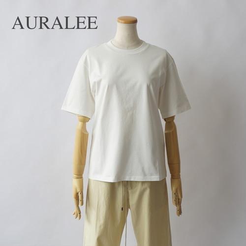 AURALEE/オーラリー ・ORGANIC COTTON COMPACT JERSEY TEE