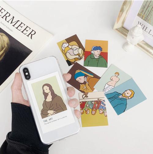 【オーダー商品】カード付 Art iphone case