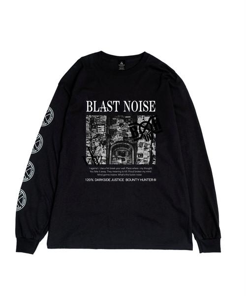 "VIRGOwearworks / ヴァルゴ   x BOUNTY HUNTER コラボロンT "" NOISE "" L/S TEE - Black"